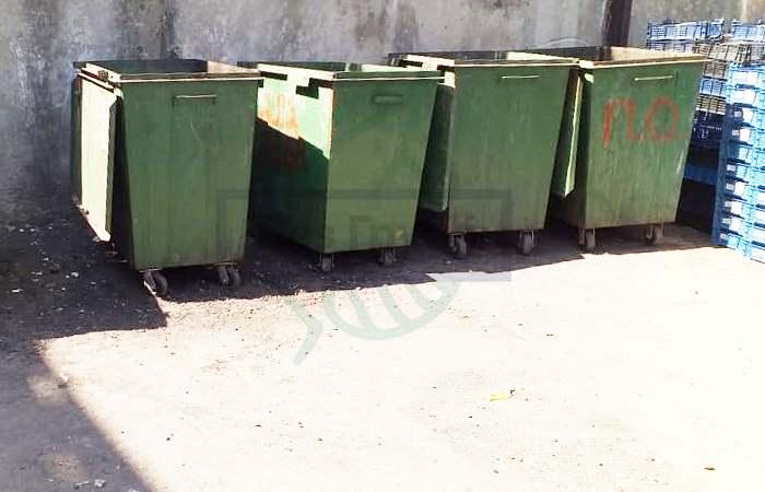Дезинфекция мусорных контейнеров