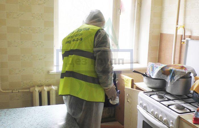 Травля тараканов Москва