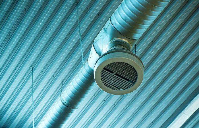 Монтаж вытяжной системы вентиляции