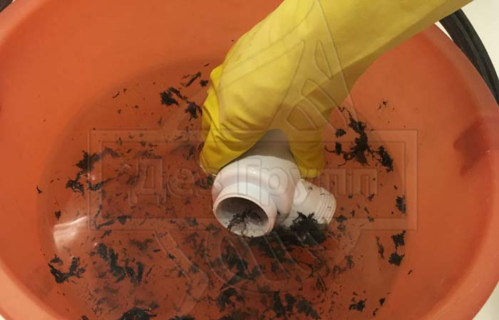 Очистка канализации от жировых отложений