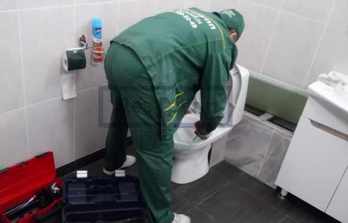 Запах канализации в туалете
