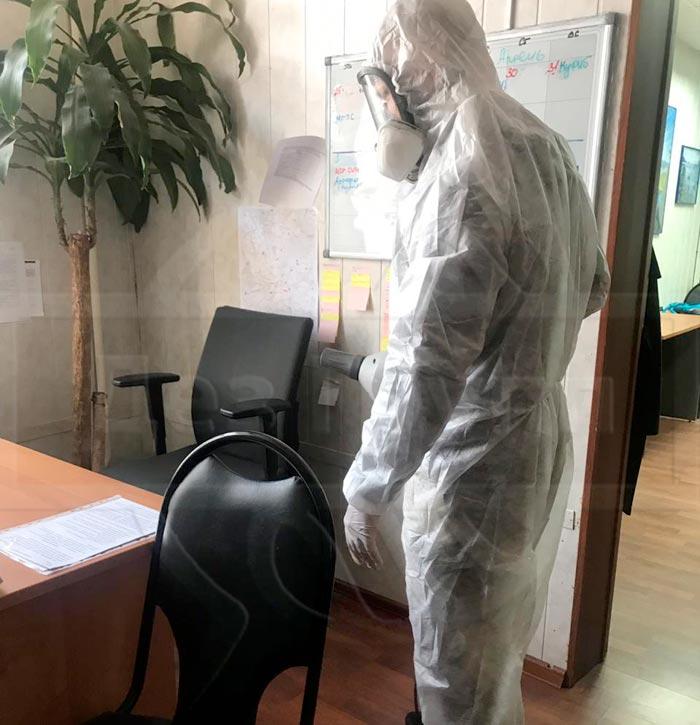 Уничтожение тараканов в офисе Московская область